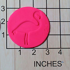 Flamingo Fondant Cookie Cutter AND Stamp #1616