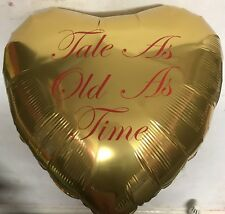 Take As Old As Time... Golf Helium Foil Balloon Beauty & The Beast