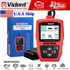 Vident V301 Car OBD2 Diagnostic Tool Automotive Code Reader Scanner USA Ship