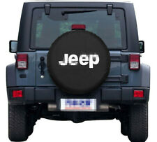 15INCH Spare Tire Cover PU Leather Car Truck SUV Camper For Cherokee Wrangler