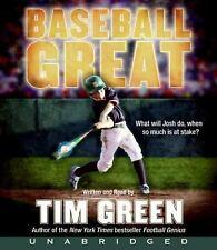 BOOK/AUDIOBOOK CD Age 9+ Tim Green Fiction BASEBALL GREAT