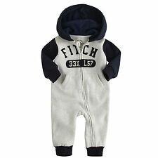 Fleece Boys' Babygrows and Playsuits 0-24 Months