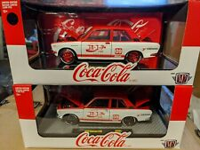 1/24 M2 Machines CHASE 1 of 750 & REGULAR 1970 Datsun 510 Coca-Cola Coke JPN01