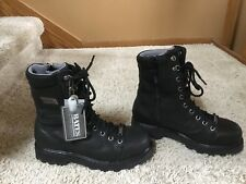 "Bates 8"" Gore-Tex Leather Insulated Side-Zip Boots Motorcycle Hunting 9"