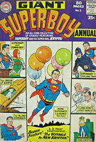 Giant Superboy Annual #1 DC Comics 1963 Silver Age VG/FN