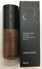 ARBONNE Perfecting Liquid Foundation SPF15 30ml, Espresso, Brand New Stock