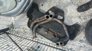 Subaru impreza forester legacy unequal  lenght header exhaust manifold non turbo