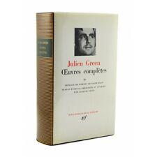 Green (Julien) - Œuvres complètes IV.