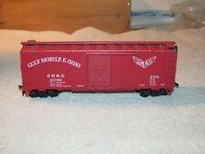 Ho Athearn? Gulf Mobile & Ohio Gm & O 21190 Gm & O Red Box Car Ex. Used