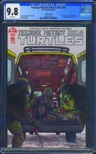 Teenage Mutant Ninja Turtles 95 CGC 9.8 Jennika becomes ninja turtle 2nd Print