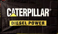 CAT CATERPILLAR DIESEL LOGO FLAG BANNER 3X5 garage shop wall decor advertisement