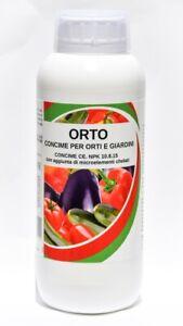 bio A.L.T Concime Liquido con Azoto Fosforo Potassio Fertilizzante per orto