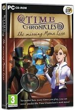 TIME CHRONICLES THE MISSING MONA LISA Hidden Object PC Game NEW