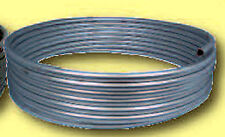 "BRAKE / FUEL LINE STEEL TUBING COIL 3/8"" OD X 25 FT Roll  25' ZINC COATED USA"