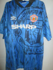 Manchester United 1992-1993 Away Football Shirt Size Large and Shorts /20035