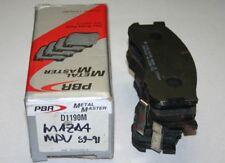 PBR Metal Master Brake Pads '90-'91 Mazda MPV D1190M
