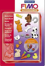 FIMO SCULPEY Argilla Spingere Stampi Animali Domestici per modellazione di gioielli artigianali art divertente 02