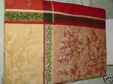 Tablecloth Lintex Holiday Poinsettia 70 in Rnd NIB