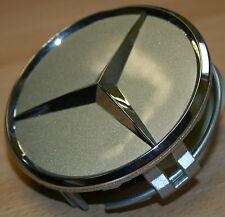 4 original Mercedes Benz Abdeckung Naben kappe Naben deckel Alufelge Stern NEU