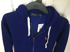 Polo Ralph Lauren Hoodie Sweater Kapuzenpullover Pullover Blau Gr. S NEU Cotton