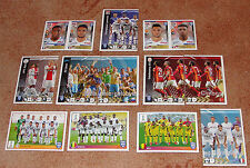Fifa 365 French edition Lot of 14 stickers NEW (5 exclusive)