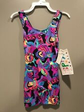 New With Tags Childs Small Tank Biketard By Gilda Marx Sweet Looking