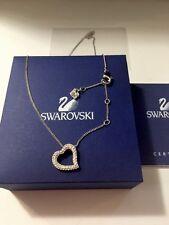 BRAND NEW Swarovski Rhinestone Heart Necklace