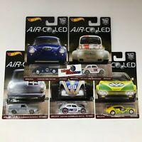 SALE!  Air-Cooled * 5 Car Set * Hot Wheels Car Culture w/ Outlaw * A5