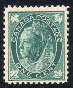 Canada #67 1c Queen Victoria Unused Scott CV $45.00