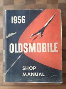 Original 1956 Oldsmobile Shop Manual, GM, Cars, Automobile