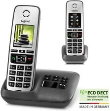 Gigaset Family Twin Pack - 2 schnurlose Mobilteile DECT Telefon Anrufbeantworter