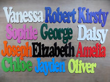 Personalised Wooden Name Plaques Board Word & Letters for wall/door craft sign