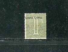 ERITREA 1, 1892 1c OVERPRINT, MINT, OG, LH  (ID4574)