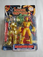 1997 Marvel Universe Iron Man - Hydro Armor/Missle Launch Action NIP Unopened