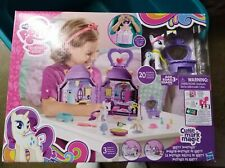 """New My Little Pony """"RARITY"""" +""""BOOKTIQUE"""" Boutique play-set 2015"""