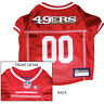 San Francisco 49ers NFL Dog Pet  Football Jersey (all sizes)