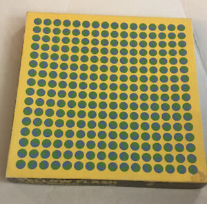 Vintage Springbok 500pc Jigsaw Puzzle 1969 Yellow Flash By Edna Andrade MCM