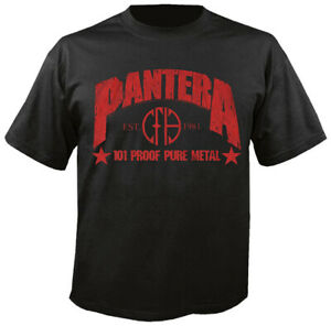 PANTERA - 101 Proof Pure Metal - T-Shirt