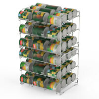 36 Can Storage Rack Pantry Organizer Kitchen Cabinet Shelf Soup Canned Holder