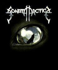 SONATA ARCTICA cd lgo THE WOLVES DIE YOUNG Official SHIRT LRG New pariahs OOP