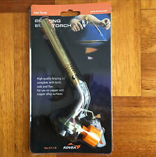 Flamethrower Gas Torch Brazing Blowtorch Butane Burner Ignition Camping Welding