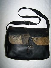 "BORSA ""PRADA"" LEATHER BAG MADE IN ITALY VINTAGE 80"