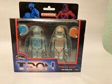 Disney Medicom Kubrick Tron Series 2 Pack Tron and Sark New Collectible