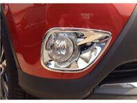 For Toyota RAV4 2013-2015 Car ABS Chrome Front Fog Light Lamp Cover Trim Garnish