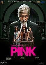 PINK DVD - AMITABH BACHCHAN, TAPASEE PANUU - BOLLYWOOD MOVIE DVD