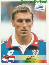 547 ALEN BOKSIC HRVATSKA CROATIA VIGNETTE STICKER WORLD CUP FRANCE 98 PANINI