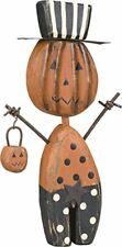 PBK Halloween Decor Wood Chunky Jack Pumpkin Sitter Ships Globally!