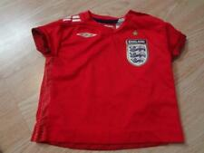 Infant/Baby England 6/12 Months Soccer Futbol Jersey (Red) Umbro Jersey