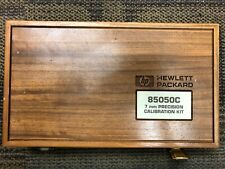 Hp 85050C 7 mm Precision Calibration Kit in Wooden Box