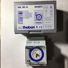 Theben - SUL181D - Interrupteur / Horloge modulaire électromécanique - 1810011